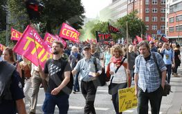 March against TTIP and CETA