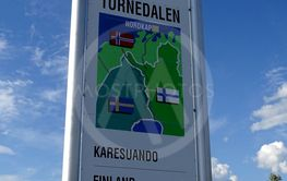 Skylt Tornedalen