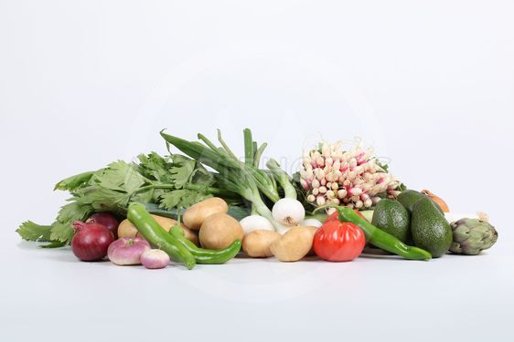 Studio shot of fresh produce