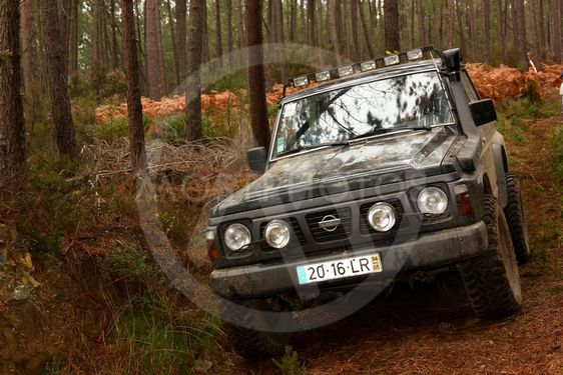 SERTÃ, PORTUGAL - March 17: An unknown driver/team...