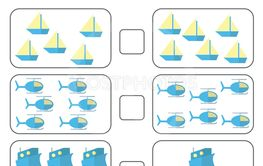 Counting Game for Preschool Children. Educational a...