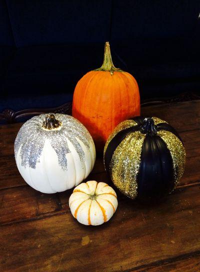 Decorated Pumpkins, Fall
