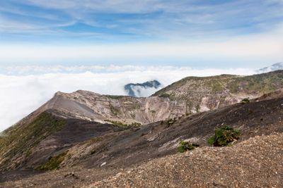 Irazu Volcano Rim