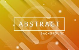 Abstract geometric background with dynamic shapes