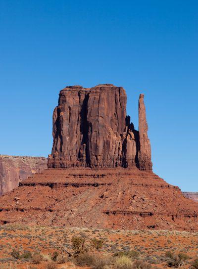 Monument Valley West Mitten