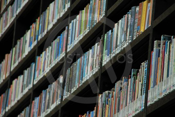 Books in order.
