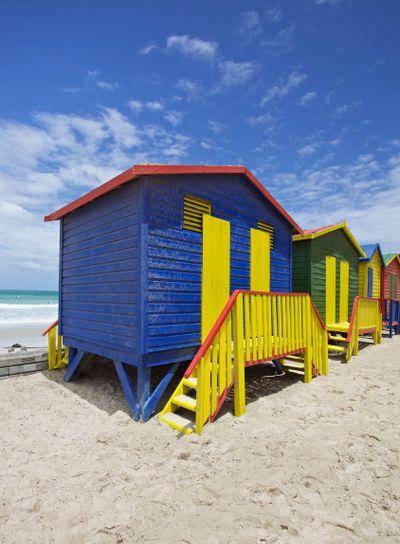 Beach huts, Cape Town