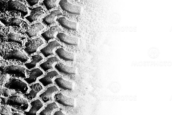 Tyre tread and copyspace