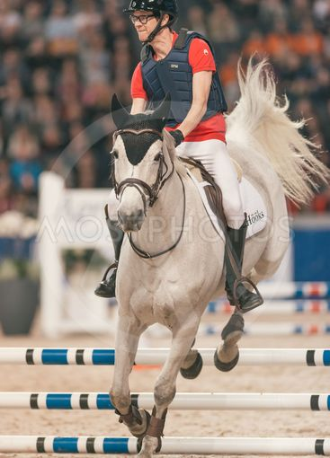 Anders Ankan Johansson at the Celebrity jumping in the...