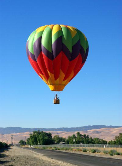 Landing A Hot Air Balloon