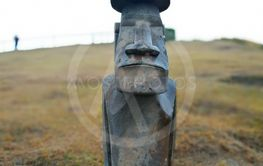 Moai statue replica