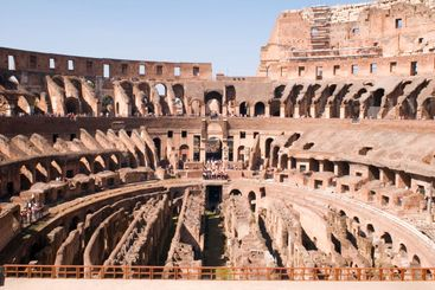 arena coliseum in Rome Italy