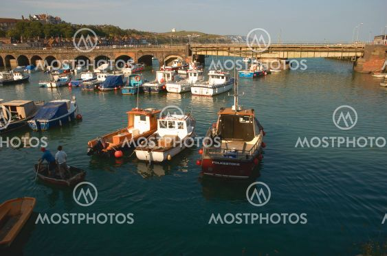 Folkstone harbour
