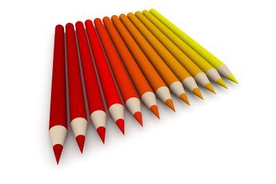 Crayon Color Spectrum