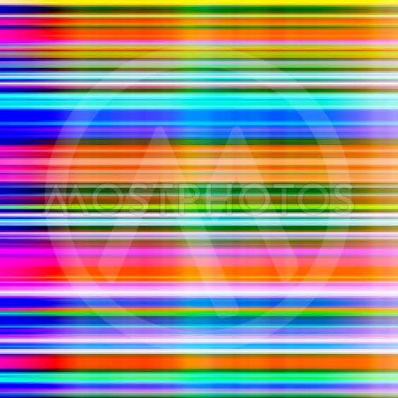 Graduated vibrant colours blur stripes abstract