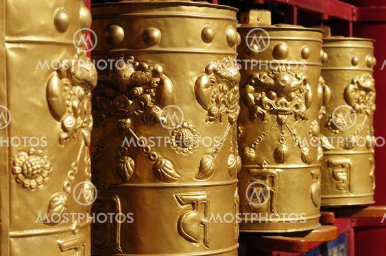 Tibetanska bön hjul
