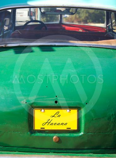 La Havana cuban car