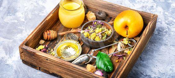 Healthy herbal tea