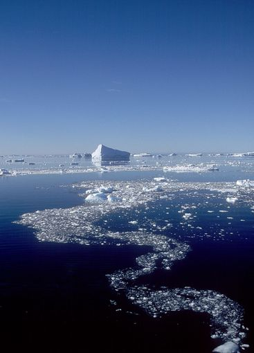 Ice formation in Antartica