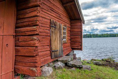 Hus vid Ornässtugan, Dalarna