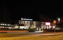 Luleå Energi Arena i  Luleå
