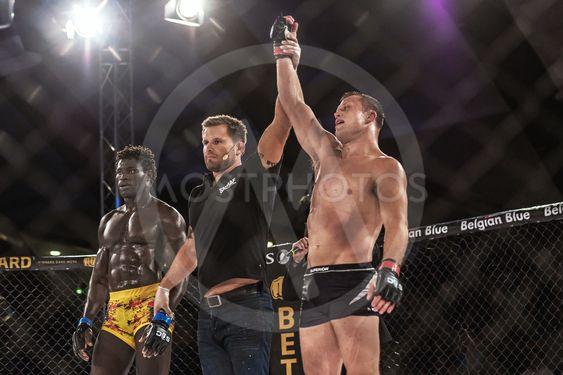 Winner Alexander Bergman against Lahat Faye at Superior...