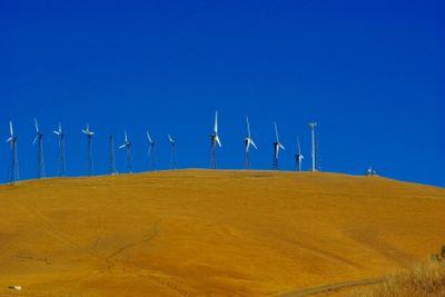 Wind Powered Electrical Generators