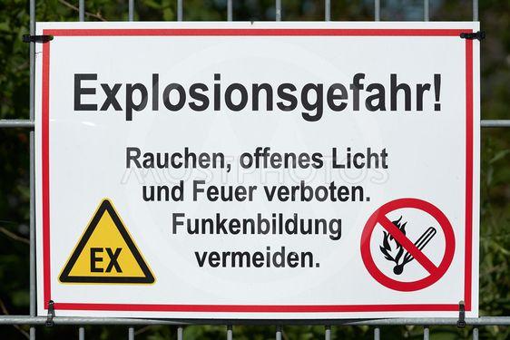 Danger of explosion