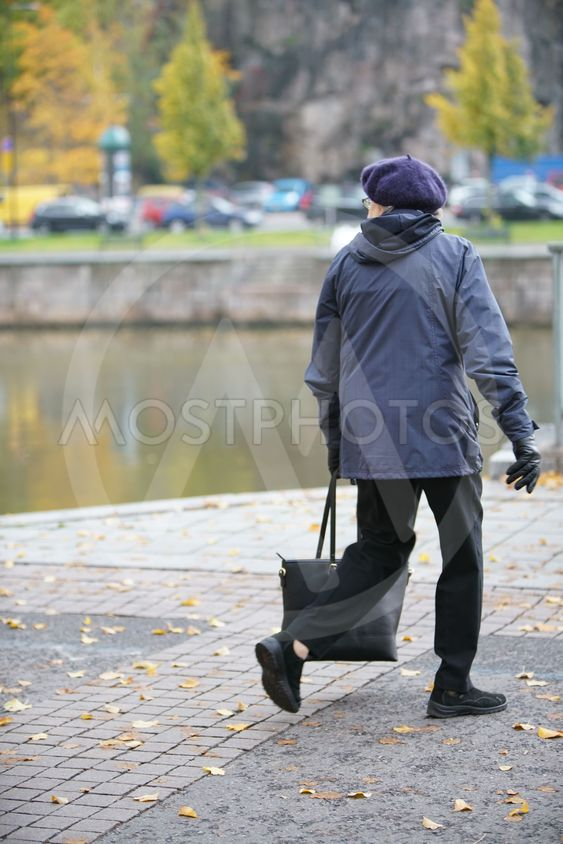 Tant som promenerar i Åbo