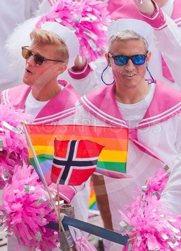Norweigian choir called the Faggots at the pride parade...