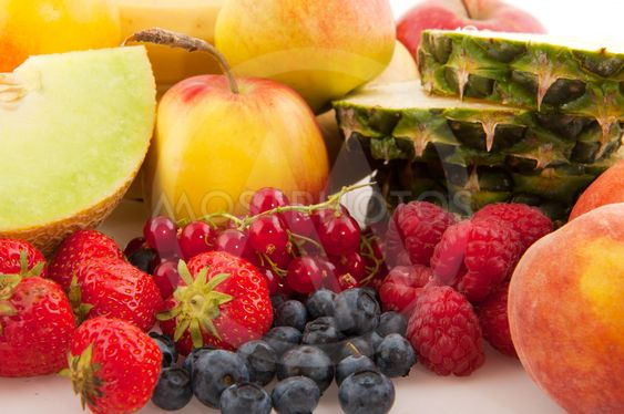 Various fresh fruit