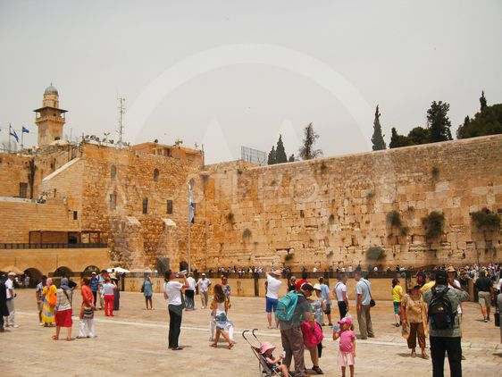 Wailing Wall (The Place of Weeping), Jerusalem, Old City