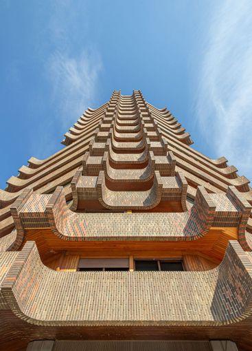 Pagoda building in Valencia