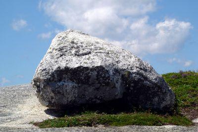 Huge granit rock