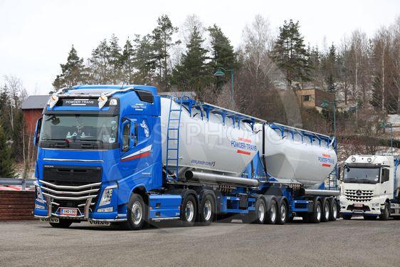 764346ff155c Beautiful Volvo FH Bulk Tan...