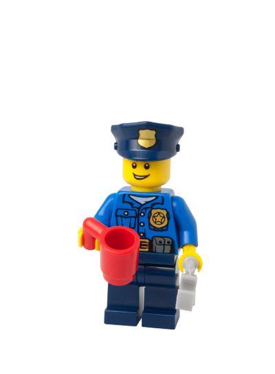 Christmas Policeman Lego Minifigure