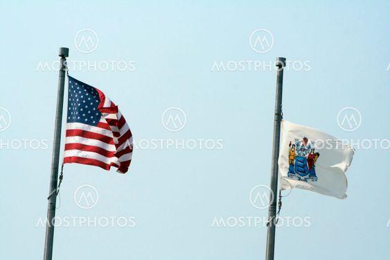 Land og stat flag