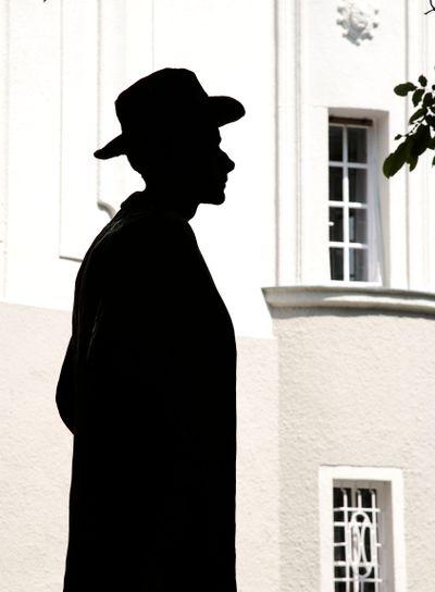 hungary,budapest : bartock museum, Bartok's statue