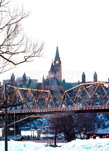 Bridged Parliament Portrait