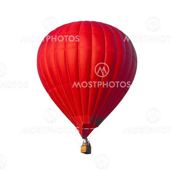 Hot Air Red balloon