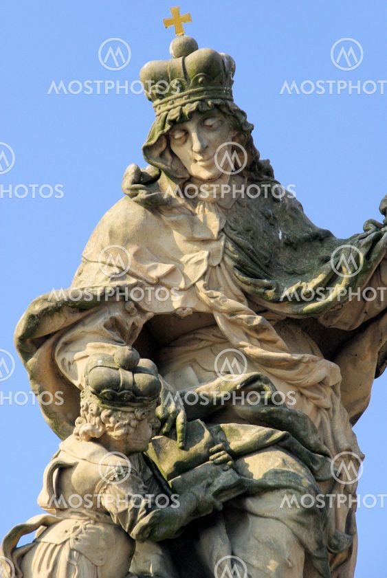 Karlsbr?cke Statue - Charles Bridge statue 04