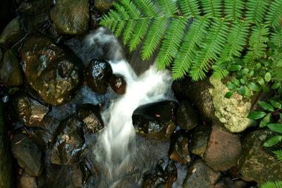 Flow of water