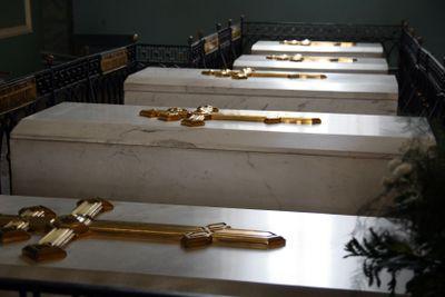 Tombs of Russian tsars