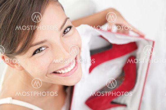 Korkea kantapäät nainen