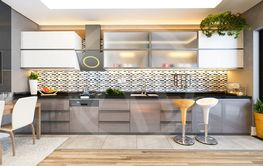 cappuccino color kitchen design decor idea