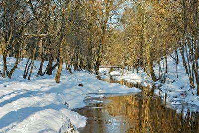 Vitebsk -  river Vitba