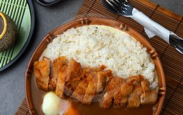 Katsu curry; Curry rice with fried pork