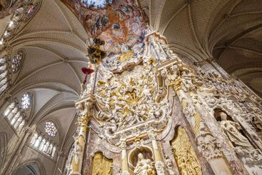 Toledo Cathedral interior