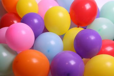 Balloons as a background