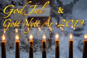 Jul, God Jul, Gott Nytt År 2019